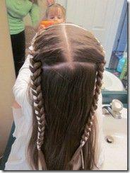 Tons of cute little girl hair styles.