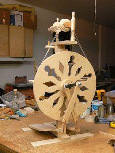 Dave Matteson Castle Wheel-very pretty