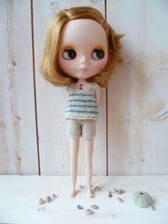 Beachwear for Blythe by LouiseCaroline on Etsy