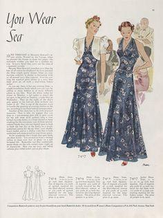 Butterick 7407 | 1937 Jacket Dress