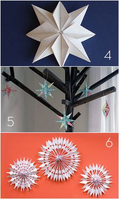 Roundup: 15 DIY Paper Holiday Decor Projects » Curbly | DIY Design Community