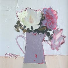Scottish Artist Mhairi McGREGOR-Roses