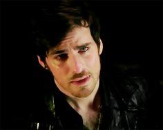 We were so sad too!!!  Colin O'Donoghue -Killian Jones - Captain Hook -on Once Upon A Time 5x20