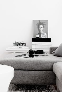 black and white stylish interior. Minimalist style is one of the crowning architectural achievements of the 20th century. Minimalism is charming in almost any space. Simplicity and elegance in furniture and decor choices. Check out http://www.pinterest.com/homedsgnideas/ for more amazing ideas.