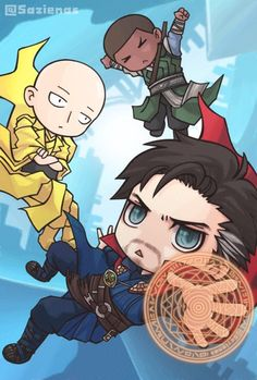 Doctor Strange || Mordo,The Ancient One<<< Are you sure the Ancient One isn't Saitama?