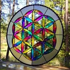 Image result for decorative stain glass with pieces left empty