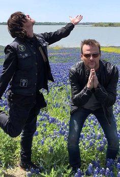 Daryl Dixon Walking Dead, Walking Dead Memes, The Walking Dead Tv, Sean Patrick Flanery, Dead Pictures, Stuff And Thangs, Gorgeous Men, Beautiful, Like A Boss