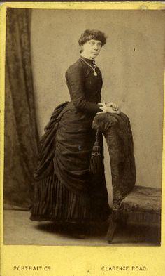 1880s Bustle