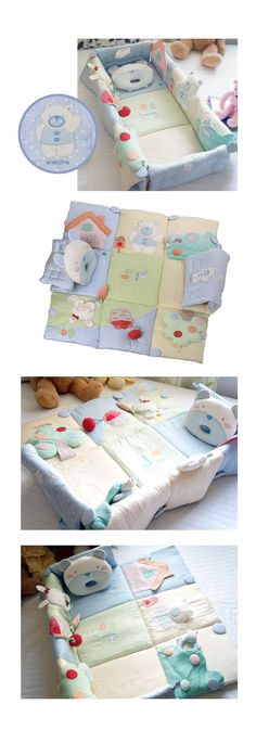 Ideas For Baby Blanket Pattern Sewing Projects Sewing For Kids, Baby Sewing, Homemade Blankets, Baby Dekor, Baby Nursery Diy, Baby Crib, Diy Bebe, Folding Beds, Baby Kind
