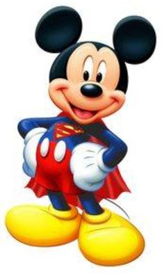 Mickey Mouse as Superman Disney Mickey Mouse, Arte Do Mickey Mouse, Mickey Mouse E Amigos, Walt Disney, Mickey Mouse Images, Mickey Love, Mickey Mouse And Friends, Disney Fun, Mickey Mouse Cartoon