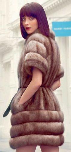 Love this #dress #fur