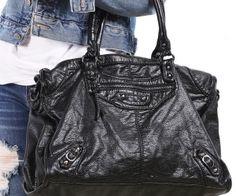 Black Zipper Shoulder Bag | spenditonthis.com