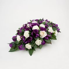 floral arrangements for long tables | Silk and artificial wedding flowers by C Floral Designs