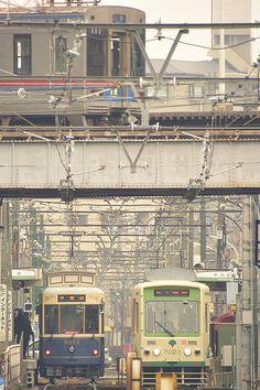 Arakawa Line, Tokyo, Japan | Seiya Nakai 都電荒川線/町屋付近