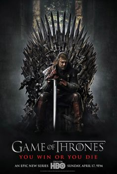 A great poster of Ned Stark (Sean Bean) from Season 1 of Game of Thrones! You win or you die. Winter is coming so check out the rest of our fantastic selection of Game of Thrones posters! Need Poster Mounts. Ned Stark, Eddard Stark, Game Of Thrones Saison, Game Of Thrones Series, Game Of Thrones Tv, Game Of Thrones Synopsis, Movies And Series, Hbo Series, Movies And Tv Shows