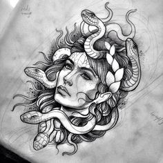 woman and snake tattoo - Google Search                              …