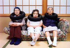 "From the series ""Tire Tube Communication: Mama and Neighbours"" Tatsumi Orimoto"