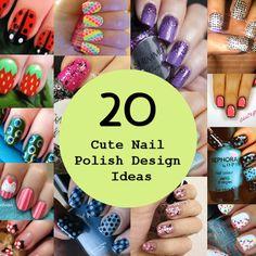 20 Cute Nail Polish