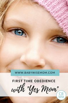 """How to Get Your Child to Obey with a Simple """"Yes Mom"""" - Babywise Mom Toddler Discipline, Positive Discipline, Parenting Styles, Parenting Advice, Parenting Toddlers, Parenting Classes, Sibling Fighting, Baby Wise, Practice What You Preach"""