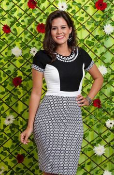 7c88a8640de1 89 melhores imagens de Aline modas em 2018 | Vestidos de moda, Moda ...