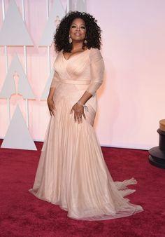 Oprah Winfrey - Le tapis rouge des Oscars 2015