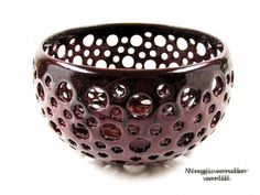 Beautiful ceramic berry bowl by Ningswonderworld!