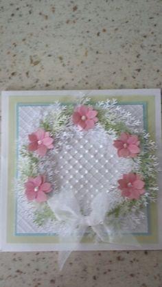 Flowrr wreath card