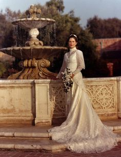 Victorian Wedding Gown by showalter50, via Flickr