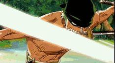 """Zørø """"le Samouraï"""" ~ Zoro Rononoa • {Garde du Corps du Chapeau Paille} ~ Équipe : Straw Hat Pirates ~ ⚓️_One_Piece_⚓️ ~ [✨GiF✨]"""