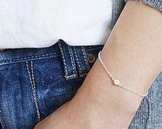 cubic silver bracelet – Etsy