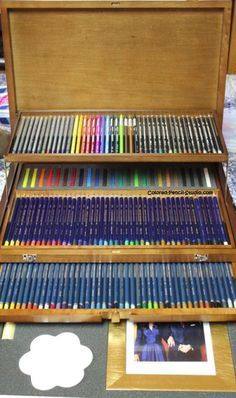 Colored Pencil Studio! We strive to show you everything you need to know about artist quality colored pencils, water-soluble pencils, and more! Find pictures of pencils, color charts, tips, techniques, and news!