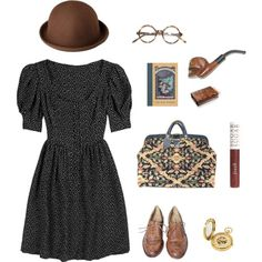 violet baudelaire inspired book outfit. Though this reminds me much of Claus