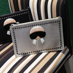 NEW Cartoon Personalized Rivet Clutch