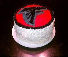 Atlanta Falcons Cake for Dae's 8th Bday Party!!