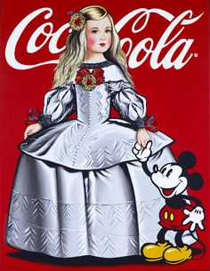 Mickey and Coca Cola.my two Favorite things :) Coca Cola Poster, Coca Cola Ad, Always Coca Cola, World Of Coca Cola, Vintage Coca Cola, Vintage Advertisements, Vintage Ads, Vintage Posters, Sodas