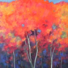 """Ginella Maples, oil on gallery wrapped canvas, 20"""" x 20"""", sold."""
