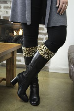 Our Lucky Streak boot and jean Kuhfs will make a bold statement when you walk in the room. This animal print design is always in style and easy to pair with your favorite outfits. Lucky Streak, Girls Night Out Outfits, Stylish Girl, Jeans And Boots, Cute Girls, New Look, Riding Boots, Cuffs, Print Design