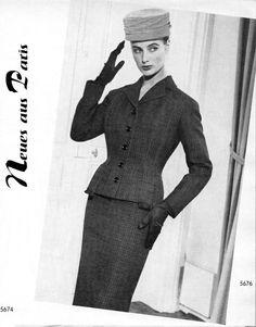 From ASZ, August 1956 entitled Novelties from Paris: