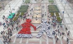 Във Видин направиха жива мартеница Bulgaria