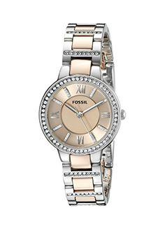 Fossil Women's ES3405 Virginia Three-Hand Stainless Steel Watch - Two-Tone Rose Gold-Tone Fossil http://www.amazon.com/dp/B00FF8CDSO/ref=cm_sw_r_pi_dp_4-vqwb114PMBY
