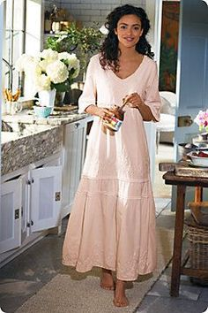 a7101255c62 Anastasia Gown - Tiered Cotton Night Gown