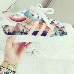 Adidas superstar (donna dust print)