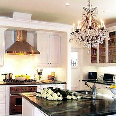Why wouldn't I have a kitchen chandelier?