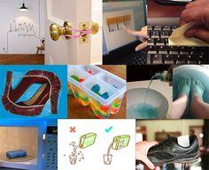 78 Dicas que vão mudar a sua vida (Parte 2) . Guia para facilitar a vida - A nova compilação de sugestões Home Organisation, Storage Organization, Life Hackers, Home Gadgets, Home Health, Home Hacks, Cleaning Hacks, Projects To Try, Blog