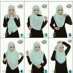 How to wear your hijab. Square Hijab Tutorial, Pashmina Hijab Tutorial, Hijab Style Tutorial, Simple Hijab Tutorial, Scarf Tutorial, Muslim Dress, Hijab Dress, Hijab Outfit, Muslim Fashion