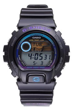 Casio 'G-Shock 6900 Glide Tidegraph' Watch | mens watch | gifts for him under $100 | mens style | mens fashion | menswear | wantering http://www.wantering.com/clothing-item/casio-g-shock-6900-glide-tidegraph-watch/afiRR/