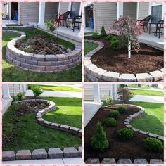 Check over here Acreage Landscaping Ideas Acreage Landscaping, Front Garden Landscape, Cheap Landscaping Ideas, Small Front Yard Landscaping, House Landscape, Outdoor Landscaping, Backyard Patio, Outdoor Gardens, Landscaping Around House