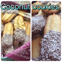 Tanyas coconut cookies, thermomix Spritzgebäck, Kokosnuss statt Haselnuss hinzugefügt 😊