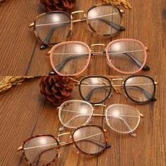 9306c69ad3 Retro Men Women Eyeglass Frame Clear Lens Eyewear Glasses Spectacles Hot