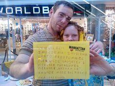 Walentynki w Manhattanie! 14 luty 2015, Grażyna i Stefan, Valentine's Day